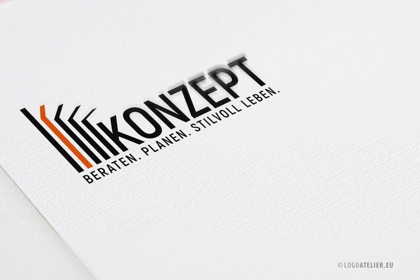 Ihr EXKLUSIVES Logo Konstruktion Architektur