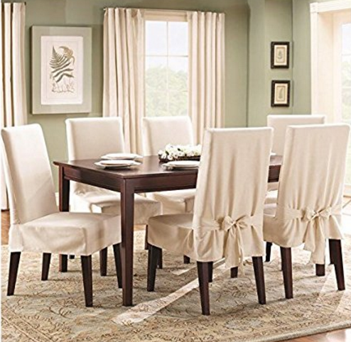 Chair Covers Dining Room Fabulous Dining Chairs Covers With Top 10