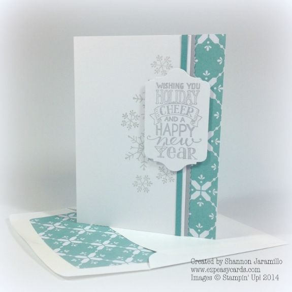 Simple Christmas Wish - CAS(E) This Sketch #96 - SU - Mingle All - christmas wish sample