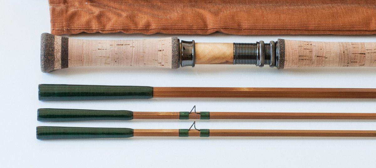 Bob Clay Riverwatch Bamboo Spey Rod 11 6 3 2 7 Bamboo Fly Rod Bamboo Clay