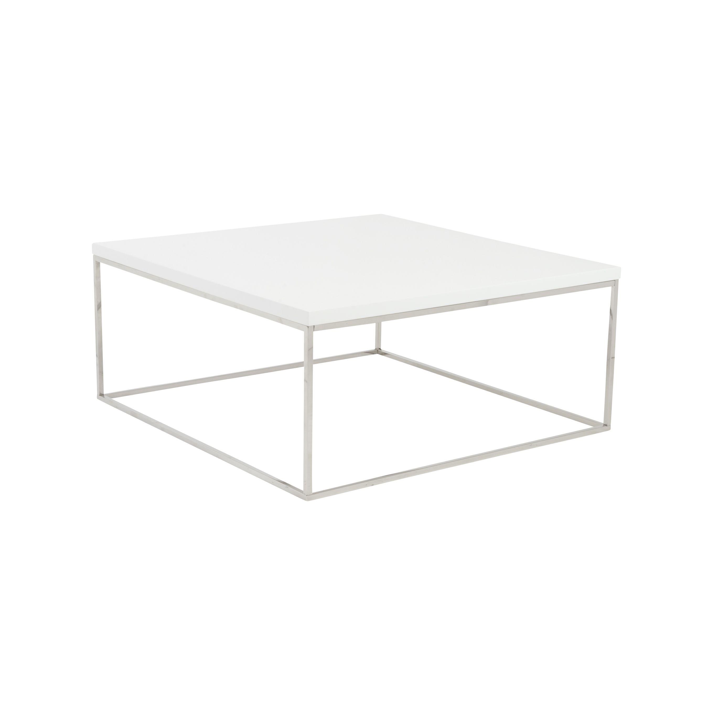 euro style teresa 35 square white lacquer coffee table eu09800wht