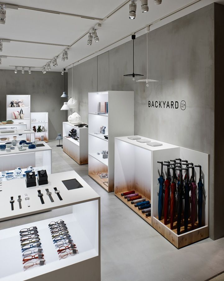 BACKYARD By|n Store By Nendo, Yokohama Japan Home Decor Fashion Design Shop  Department