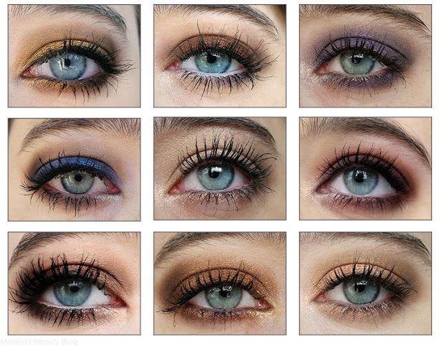 Colours That Emphasize Your Eyes Grey Eye Makeup Green Eyes Pop