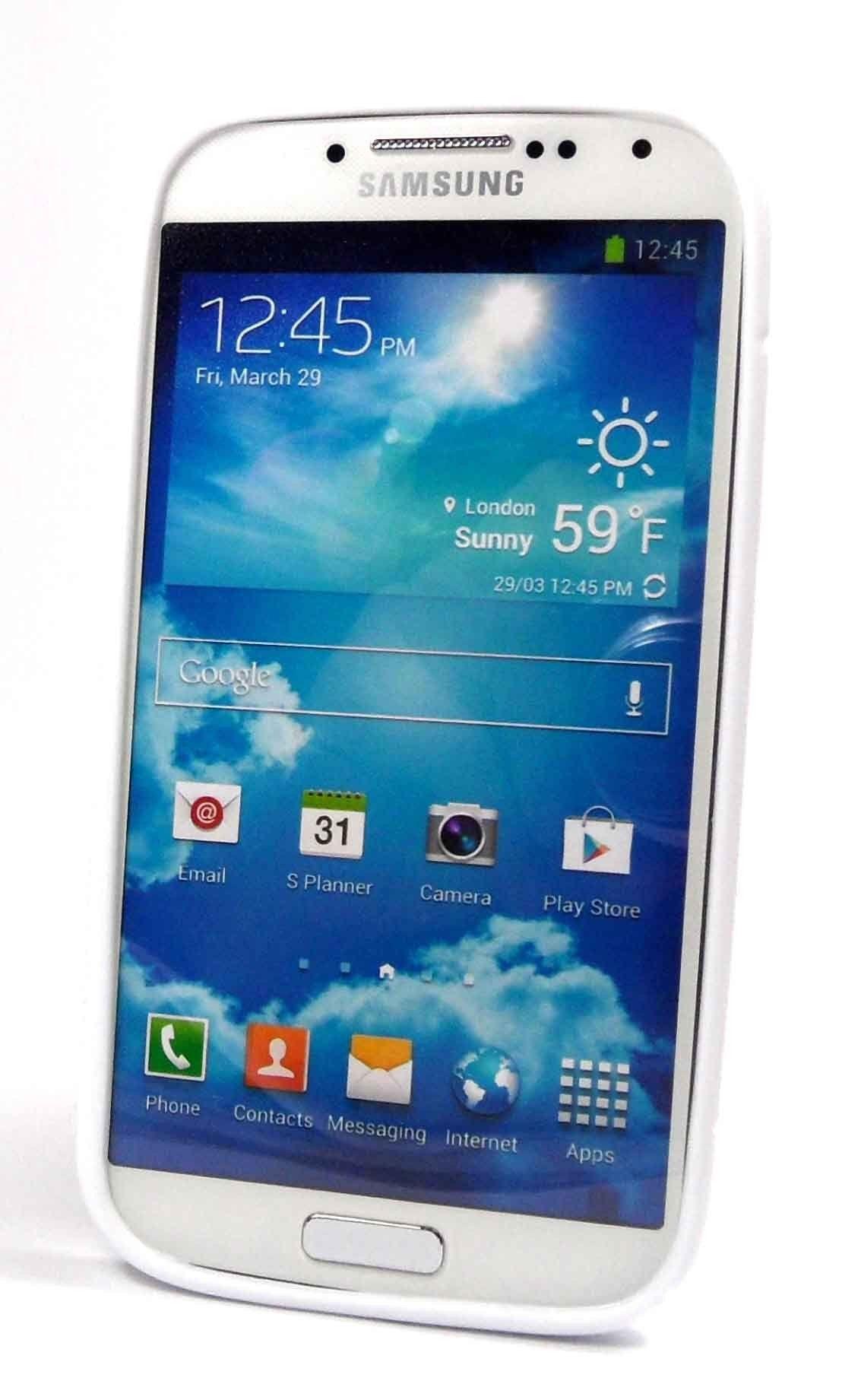 Black S Line Gel Case for Samsung Galaxy Mega