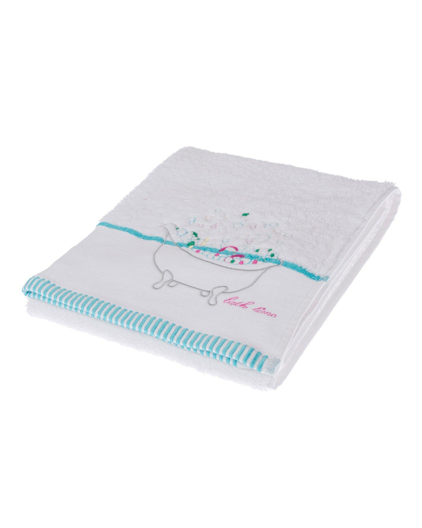 homescapes hand towel from the bath time collection measuring 50