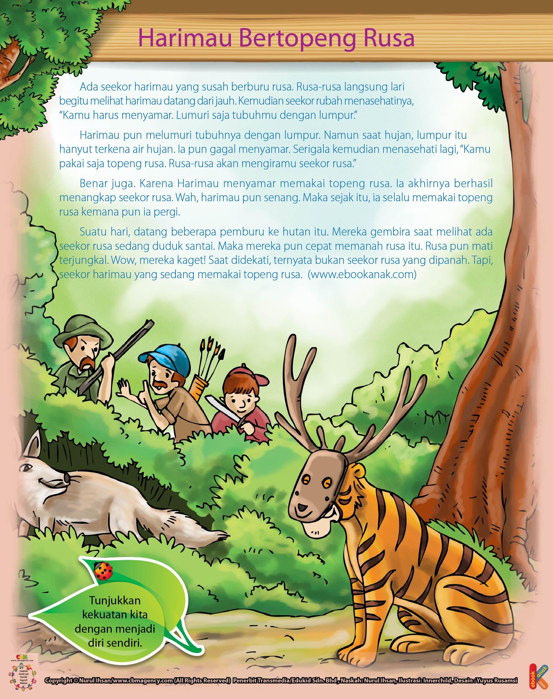 Harimau Bertopeng Rusa Ebook Anak Rusa Harimau Topeng