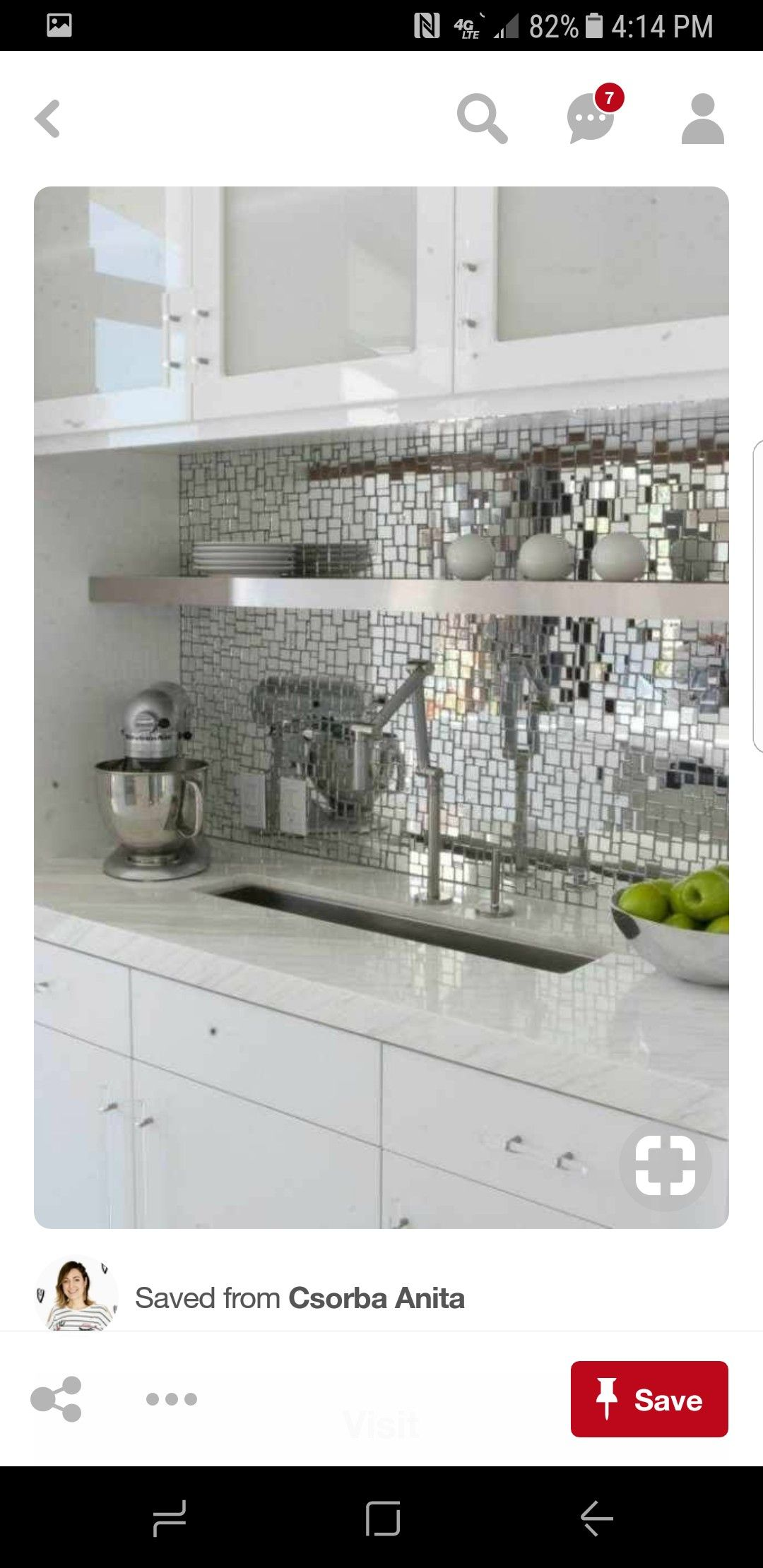 Kitchen Ideas Backsplash Mirrors Mirror Kitchen Countertops Glass