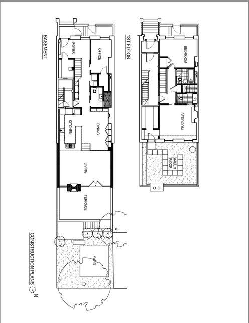 Slideshow Soho Row House Renovation Dwell Row House Remodeling Floor Plans House Plans