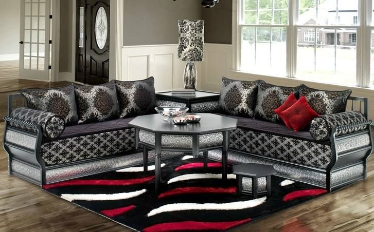 moroccan living room salon marocain Pinterest
