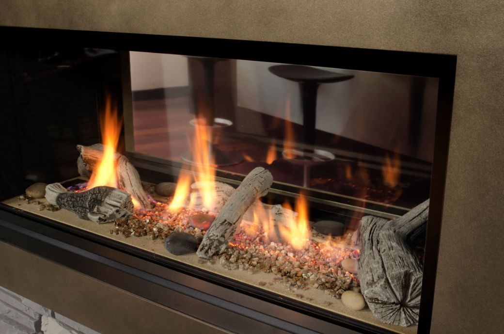 Valor L1 Linear 2 Sided Series Quality Fireplace Bbq
