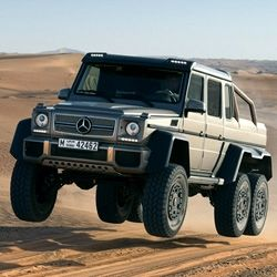 Skip 4wd Lets Get 6wd Mercedes Benz Unveils The G63 Amg 6x6