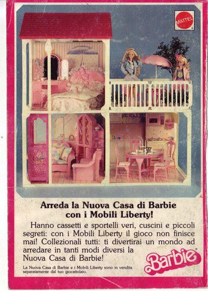 Lo ammetto, ci giocherei ancora oggi Casa di Barbie con ascensore ...