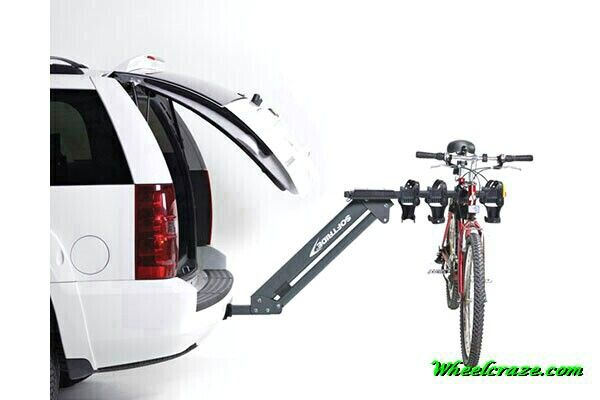 Soft Ride Access Dura 4 Bike Rack Capacity Four Forty Lbs Bikes Soft Rubberized Cradles Support Bikes And Cable Lo Suv Bike Rack Best Bike Rack Car Bike Rack