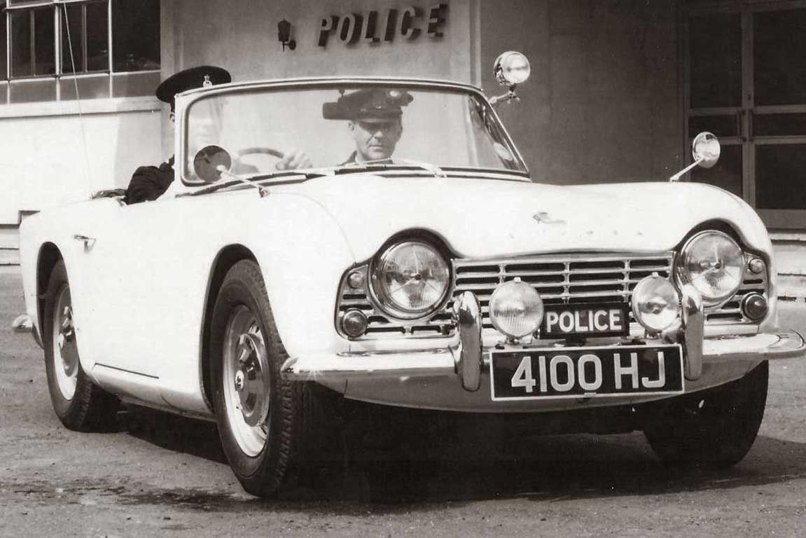 50yearold 'fast pursuit' police coupe for sale (With