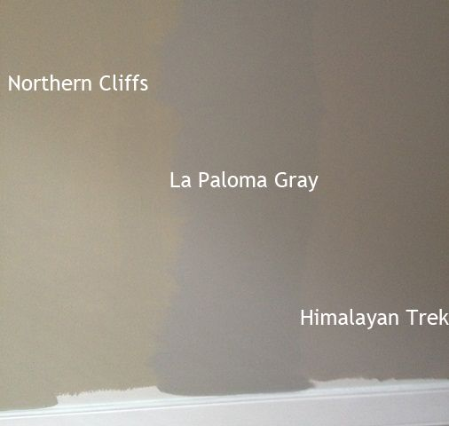 Rockport Gray Kitchen: Benjamin Moore Himalayan Trek, La Paloma Gray, Northern