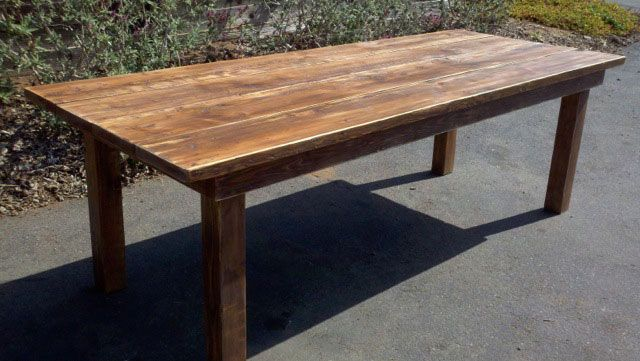 Reclaimed Wood Dining Tables Furniture & Sets