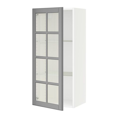 Lovely Metal Wall Cabinets with Glass Doors