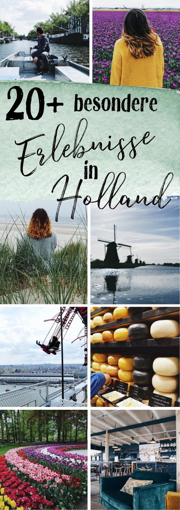 Wohnmobilreise durch ganz Holland - Nordsee, Tulpenblüte und besondere Städte