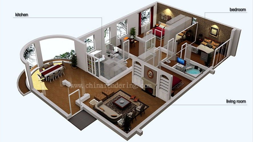 3D Small Homes Blueprints Google Search House Ideas