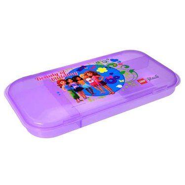 Lego Friends Minifigure Storage Case - Purple - http://www.majestytoys.com/lego-friends-minifigure-storage-case-purple/