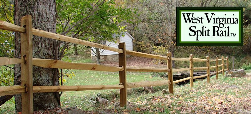 Snake Rail Fence Treated Wvsr Fence Types Of Fences Fence Styles