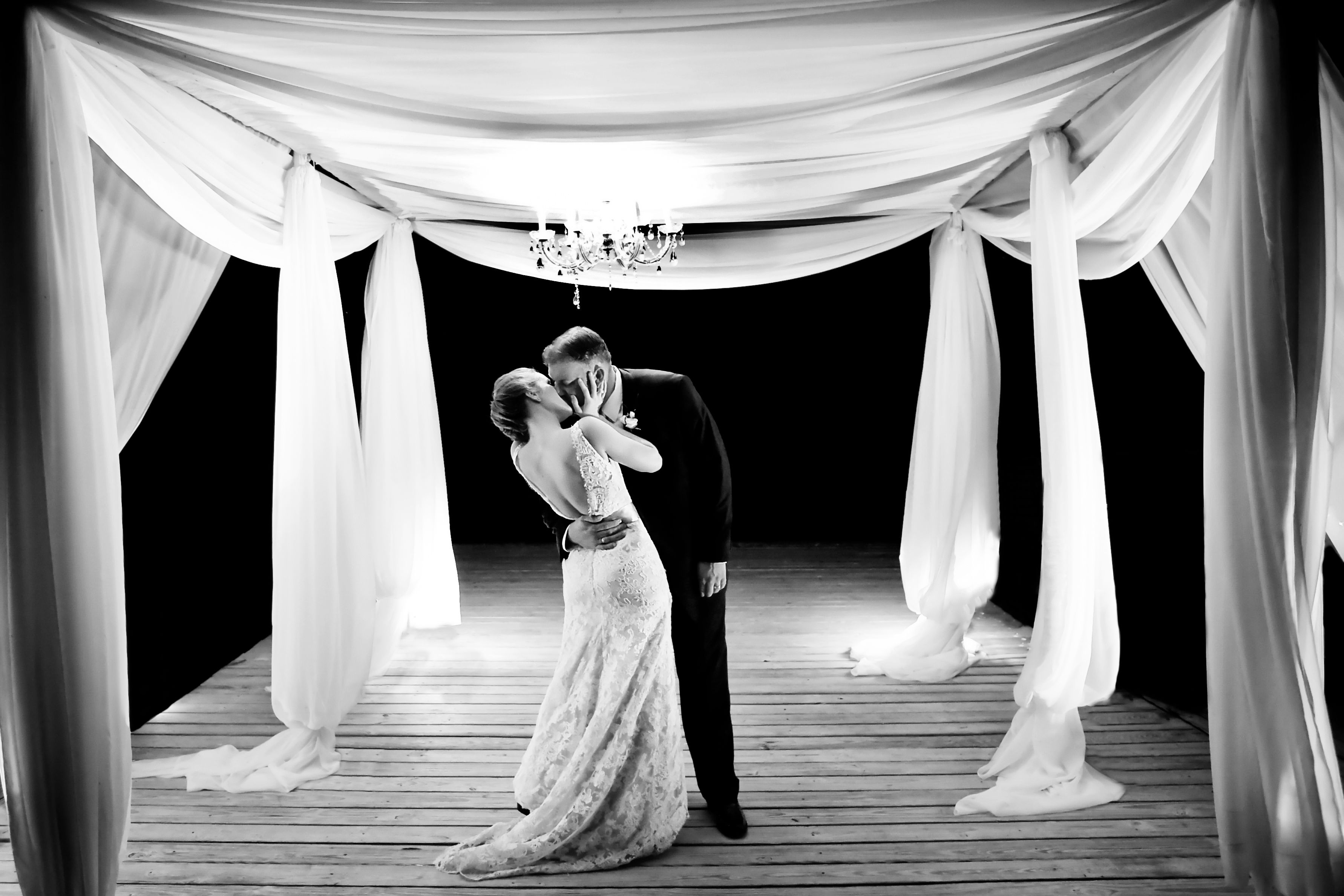 Simply Magical Wedding Arch And Chandelier The Best