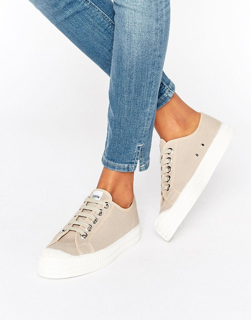 Novesta Star Master Classic Sneakers In Cream - Beige