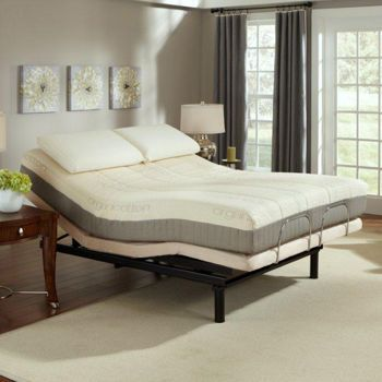 Sleep Science 9 Natural Latex Queen Mattress With Adjustable Base