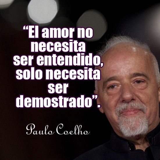 Frases De Amor No Correspondido De Paulo Coelho 2 Frases Paulo