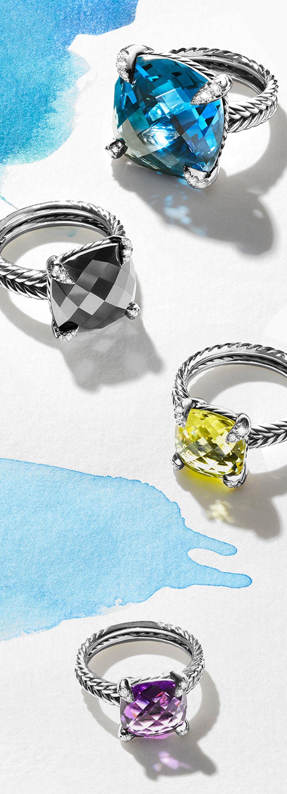 New Châtelaine designs are a celebration of color.   David Yurman ...