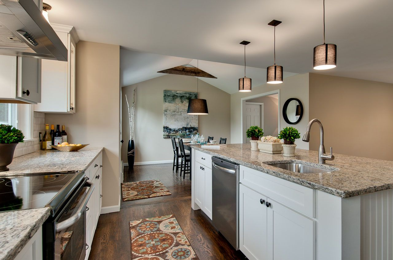 Southington Ct Builder Relies On Cliqstudios For Quality Kitchen Remodel Contemporary Kitchen Remodel