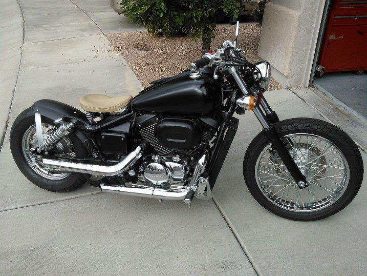 lets see the honda shadow chops - Page 4 - Japanese Bikes, Build