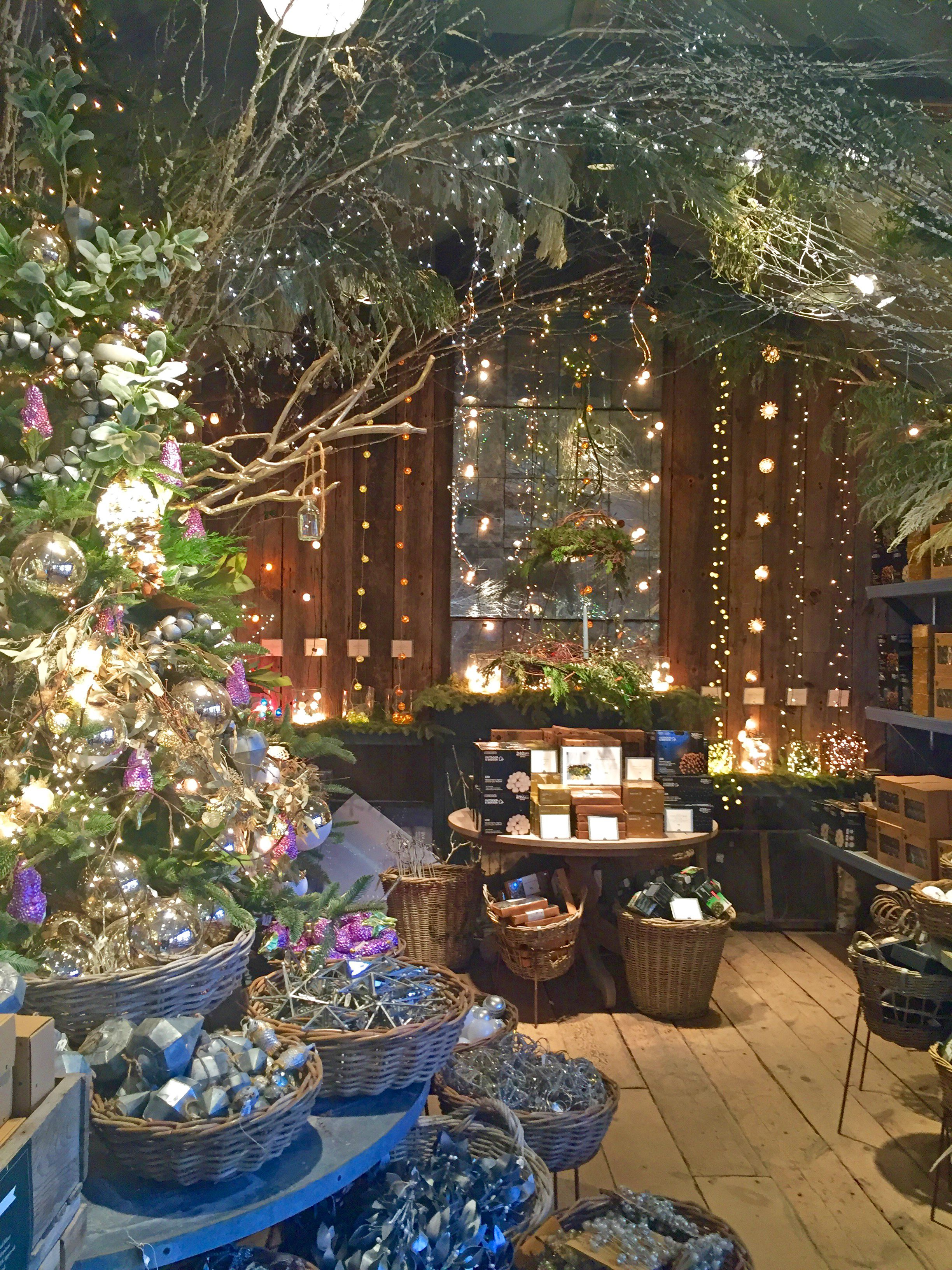 Holidays in the gift shop at Terrain, Glen Mills, PA
