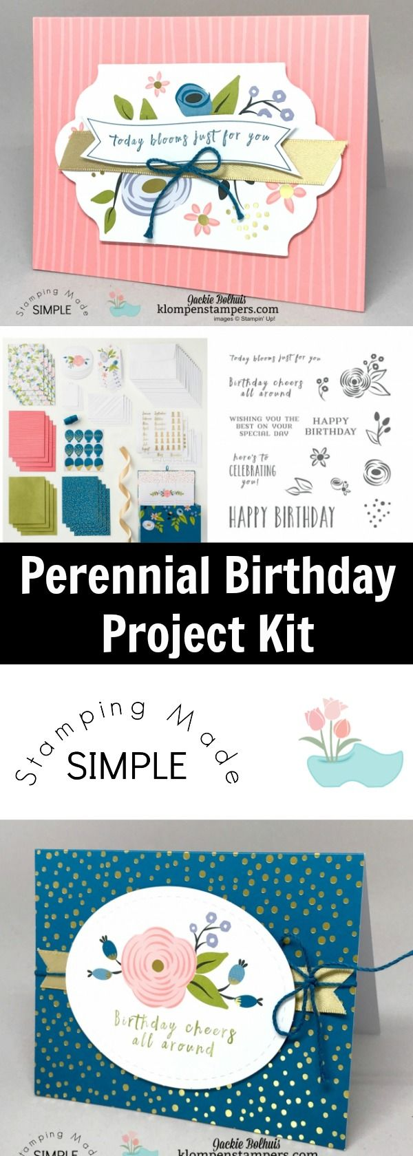 Make 16 Easy And Fun Birthday Cards With The Perennial Birthday Kit