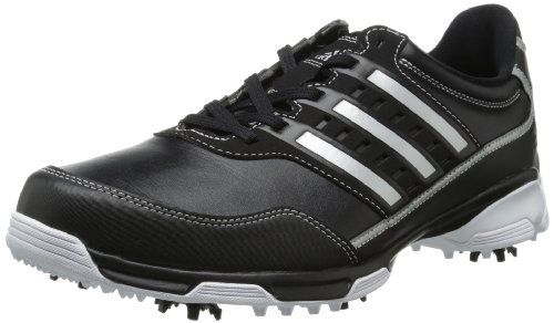 Cloudfoam sockliner on these mens golflite traxion golf shoes by Adidas  provides ultra-light cushioning and comfort a05be21b4