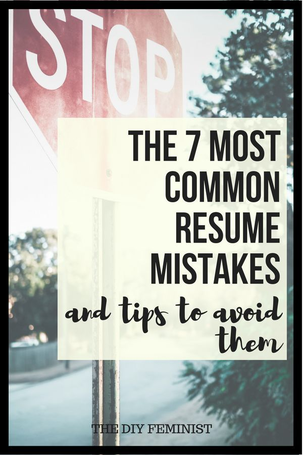The Most Common Resume Mistakes and How to Fix Them - Resume tips, Resume, How to make resume, Writing a cover letter, Resume examples, Cover letter for resume - This list of common resume mistakes to avoid is packed with information to modernize your resume, including tips and tricks to fix the biggest mistakes
