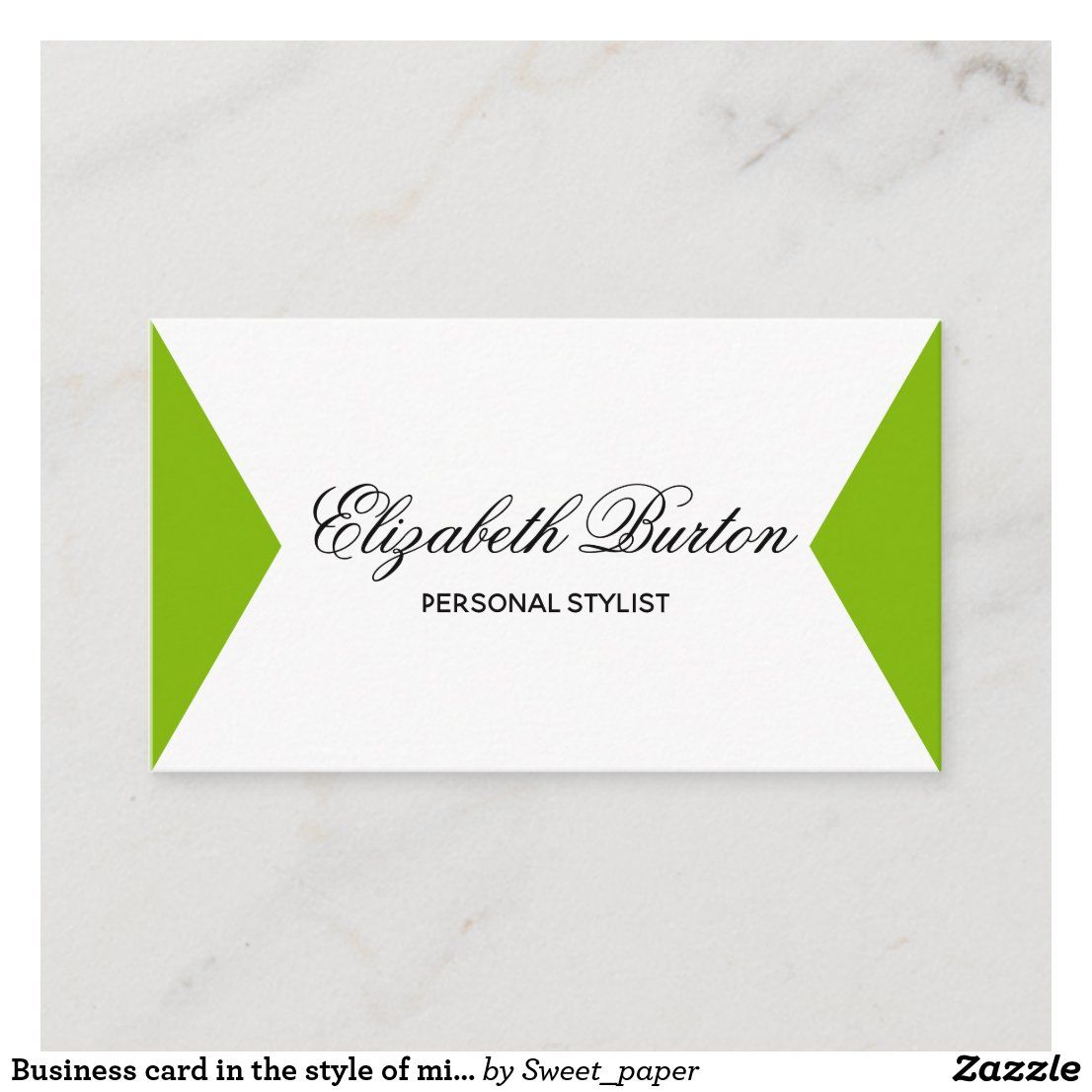 Business Card In The Style Of Minimalism Zazzle Com In 2021 Zazzle Business Cards Business Cards Quality Cards