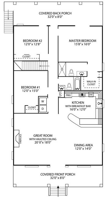 Mother Inlaw Suite Plans Downstairs Can Be Finished Optionally Adding Another Bedroom Mother In Law Apartment Floor Plans Inlaw Suite Plans