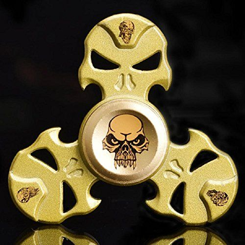 New Style Skull Fid Spinner Triangle Single Finger De pression