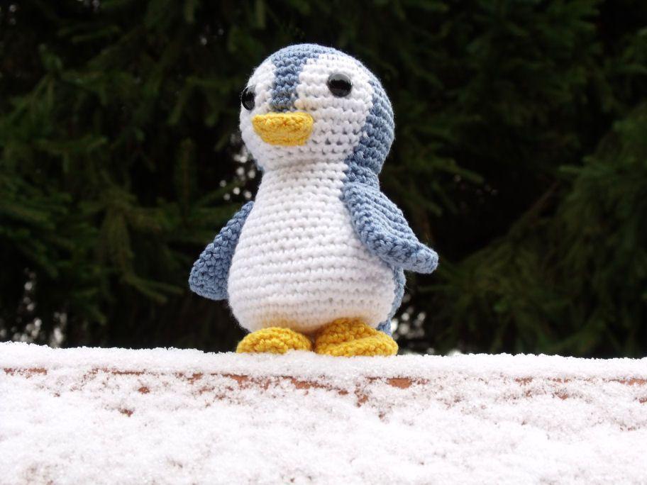 Amigurumi Leren Haken : Pinguin amigurumi amigurumi haken and crochet