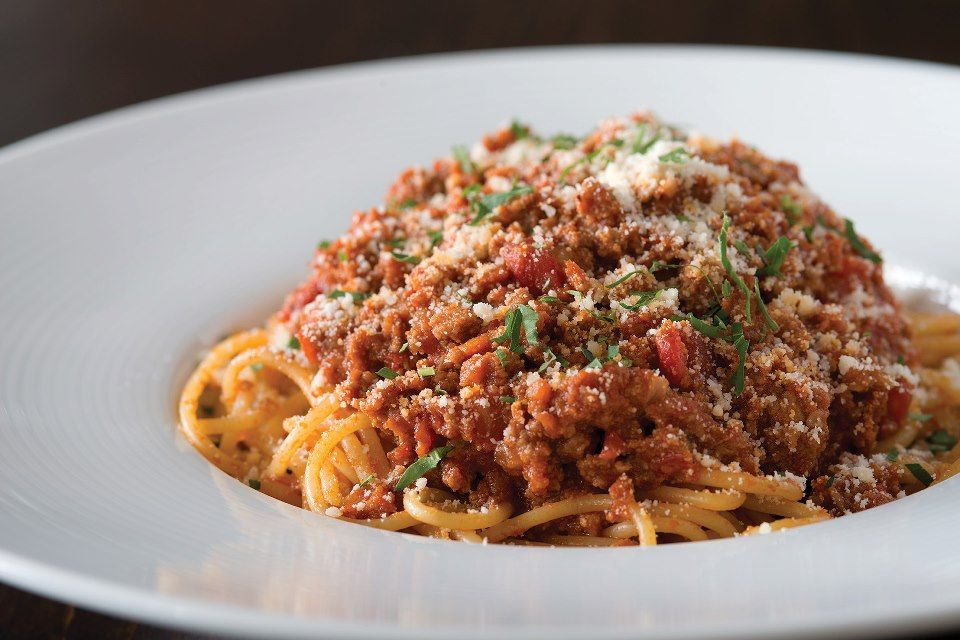 Spaghetti Bolognese from California Pizza Kitchen | DINE | Pinterest ...