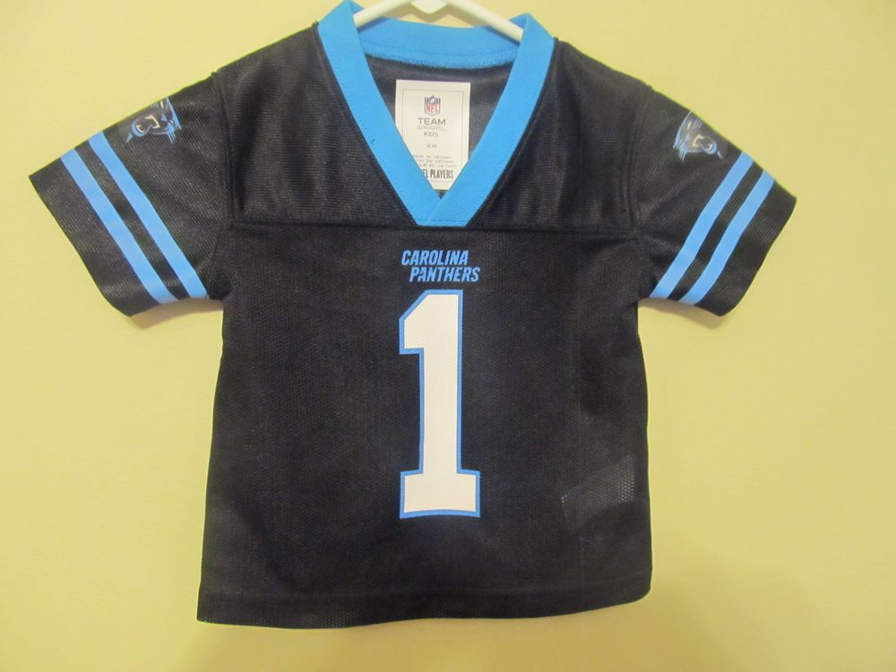 best sneakers 5cced 2ed95 Cam Newton - Carolina Panthers Jersey - NFL Infant 12 months ...