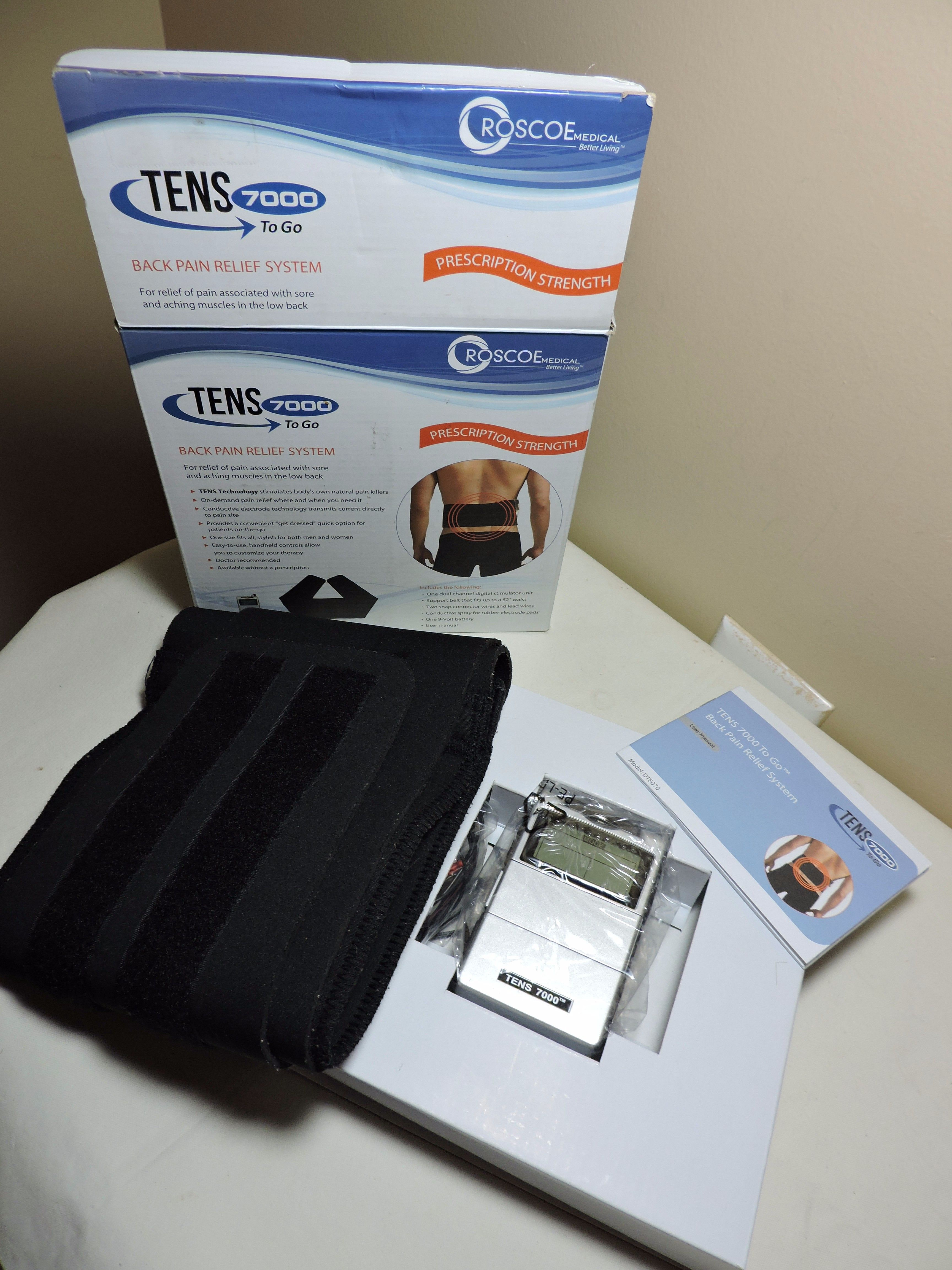 Back Pain System TENS Unit NEW w Box $40 BUY NOW s