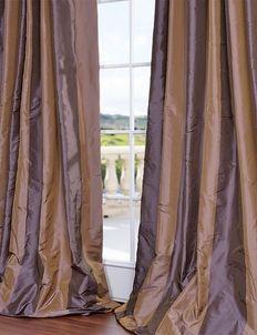 Verona Faux Silk Taffeta Curtains Drapes Curtains 108 Inch