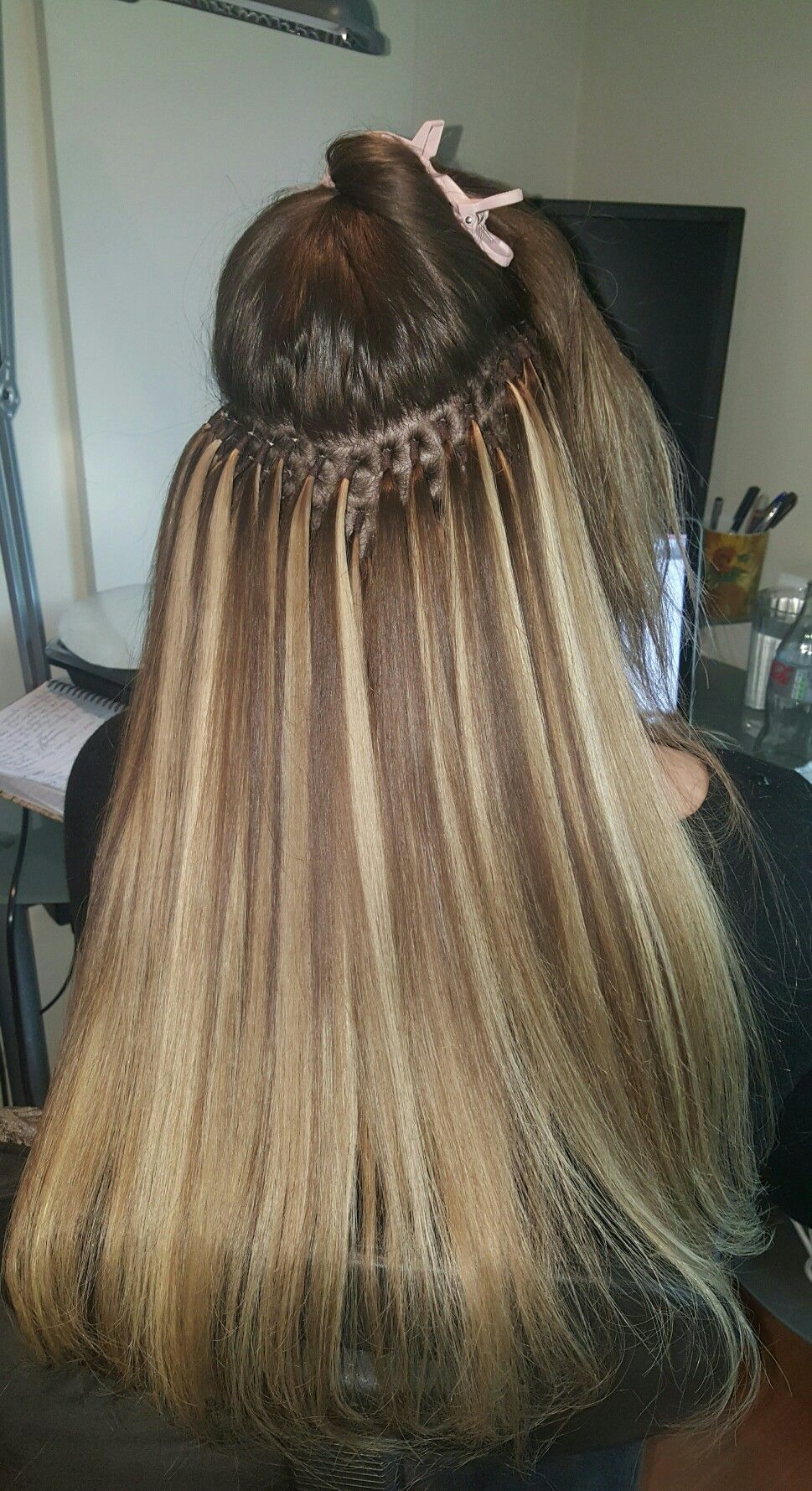 Knots Hair Extensions Method By Geenie Hair No Damage No Pain No