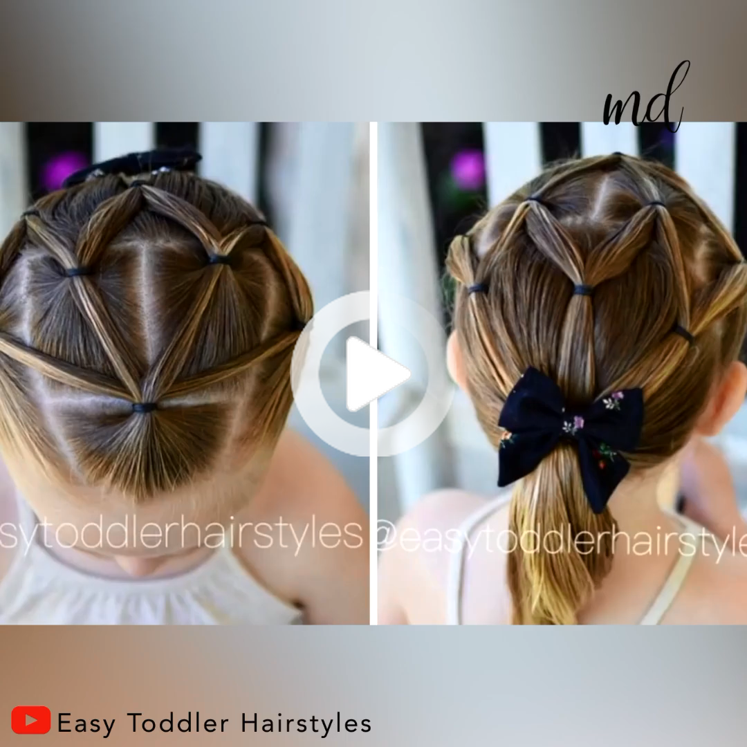 Beautiful hairstyle for girls   By: @Easy Toddler Hairstyles #schoolhairstyles