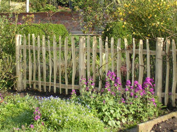 Woodland Craft Fencing - BY YORKSHIRE HURDLES UK | Garden ...