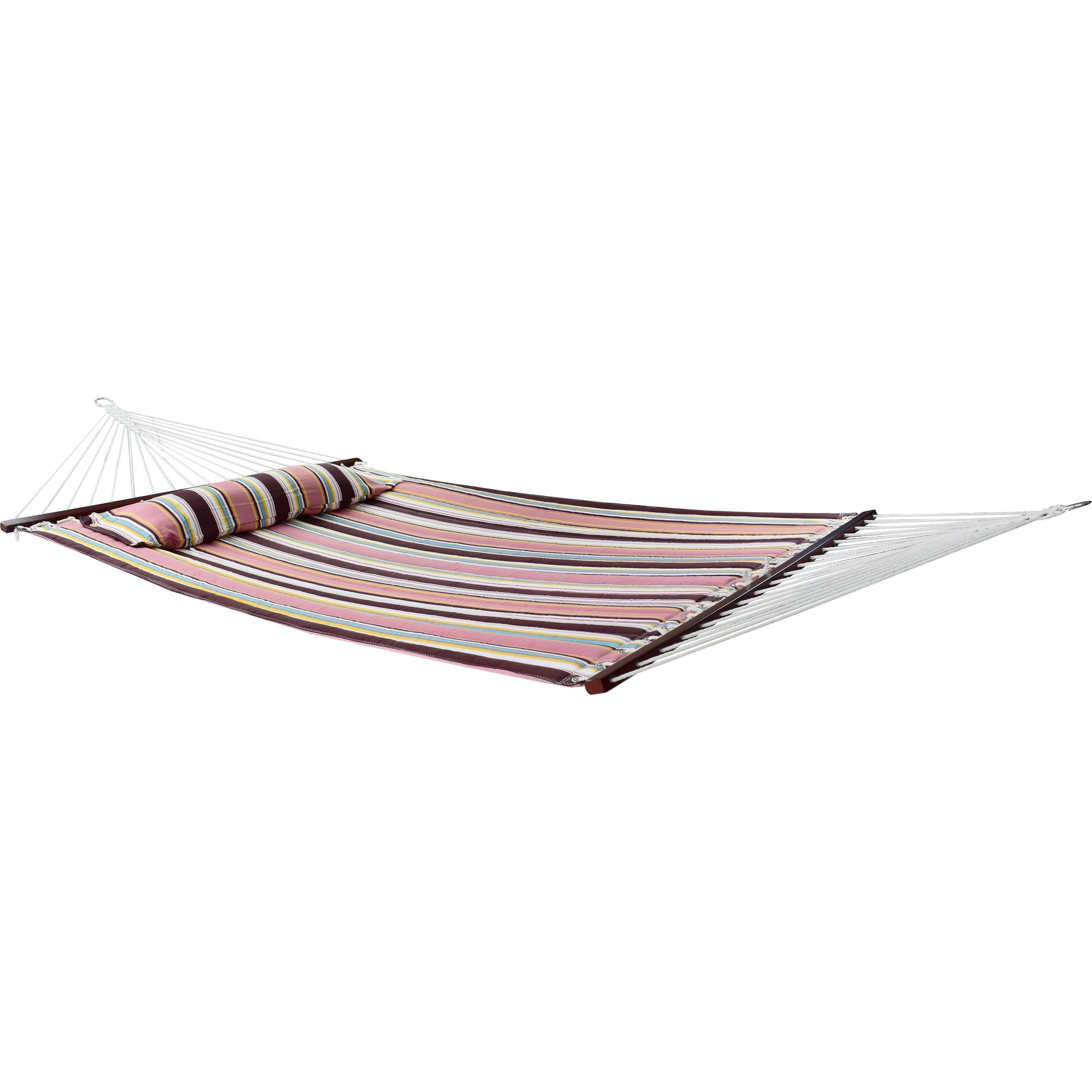 Sorbus hammock bed top includes detachable pillow and spreader bar