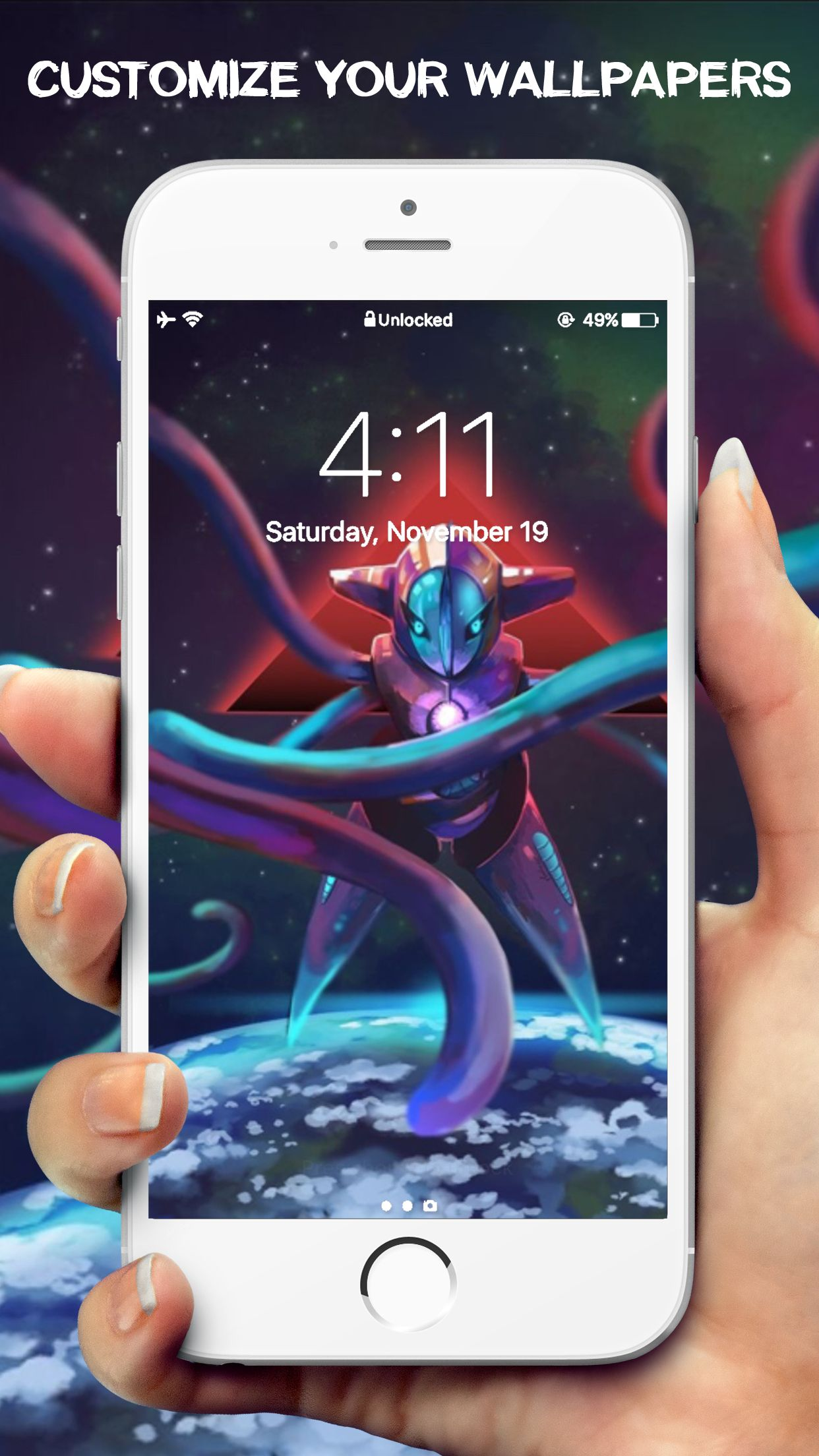 Check out New HD Fantasy Wallpaper For Pokemon Go IOS ➡ s itunes