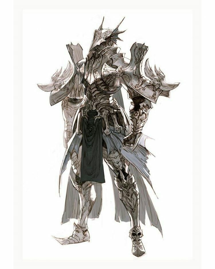 Pin By Caitlyn On Anime Character Art Concept Art Characters Character Design Dragon knight armor (new items based on improved imperial dragon armor reskinned mainly to go from the annoying pink to a nice steel gray color plus more, but with a horsehair helmet instead and with reskinned elven shield to match). concept art characters character design